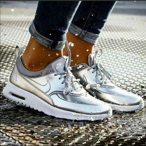Nike Air Max Thea Metallic Silver Shoes
